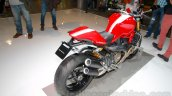 Ducati Monster 1200 S Stripe rear three quarters left at the EICMA 2014