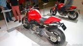 Ducati Monster 1200 S Stripe rear three quarters right at the EICMA 2014