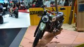 Ducati Scrambler front three quarter at the 2014 Thailand International Motor Expo
