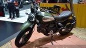 Ducati Scrambler green at the 2014 Thailand International Motor Expo
