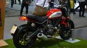 Ducati Scrambler red at the 2014 Thailand International Motor Expo
