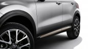 Fiat 500X Mopar chrome side moulding