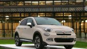 Fiat 500X Mopar grey front three quarter