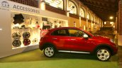 Fiat 500X Mopar red side