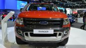 Ford Ranger WildTrak front at 2014 Thailand International Motor Expo