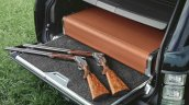Holland & Holland Range Rover gun case in the boot