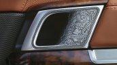 Holland & Holland Range Rover interior door handle