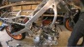 Honda CBR600RR engine for Bajaj RE auto