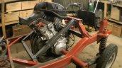 Honda CBR600RR engine in Bajaj RE auto