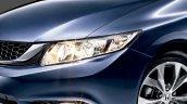 Honda Civic facelift Malaysia headlamp