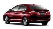 Honda Grace Hybrid rear quarter