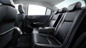 Honda Grace Hybrid rear seat