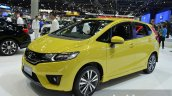 Honda Jazz front three quarters at the 2014 Thailand International Motor Expo