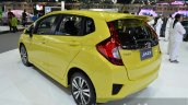 Honda Jazz rear three quarters at the 2014 Thailand International Motor Expo