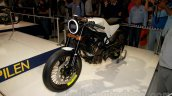 Husqvarna 401 Vitpilen concept front three quarter at EICMA 2014