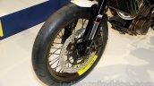Husqvarna 401 Vitpilen concept front wheel at EICMA 2014