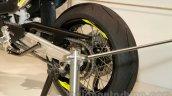 Husqvarna 701 Supermoto rear wheel at EICMA 2014