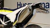 Husqvarna 701 Supermoto silencer at EICMA 2014