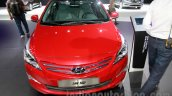 Hyundai Verna Facelift front at the 2014 Guangzhou Auto Show