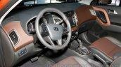 Hyundai ix25 dash at 2014 Guangzhou Motor Show