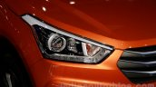 Hyundai ix25 headlight at 2014 Guangzhou Motor Show