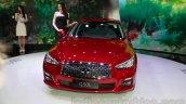 Infiniti Q50L front at 2014 Guangzhou Auto Show