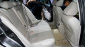 Infiniti Q50L rear seats at 2014 Guangzhou Auto Show