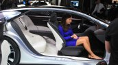 Infiniti Q80 Inspiration Concept cabin at the 2014 Los Angeles Auto Show