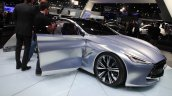 Infiniti Q80 Inspiration Concept front three quarters left at the 2014 Los Angeles Auto Show