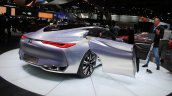 Infiniti Q80 Inspiration Concept rear three quarters right at the 2014 Los Angeles Auto Show