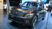 Infiniti QX80 Limited Edition front three quarters at the 2014 Los Angeles Auto Show