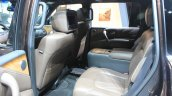 Infiniti QX80 Limited Edition rear seat at the 2014 Los Angeles Auto Show