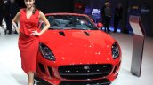 Jaguar F-Type manual transmission variant at the 2014 Los Angeles Auto Show