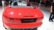 Jaguar F-Type manual transmission variant rear at the 2014 Los Angeles Auto Show