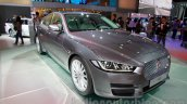 Jaguar XE front quarters at the 2014 Guangzhou Auto Show