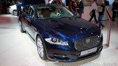 Jaguar XJ Cambridge edition front quarter at 2014 Guangzhou Auto Show