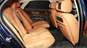 Jaguar XJ Cambridge edition rear seat at 2014 Guangzhou Auto Show