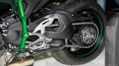 Kawasaki Ninja H2 rear swing arm at EICMA 2014