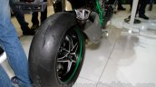 Kawasaki Ninja H2 rear tyre at EICMA 2014