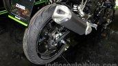 Kawasaki Z250SL exhaust at EICMA 2014