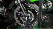 Kawasaki Z250SL front disc at EICMA 2014