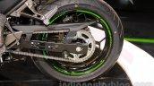Kawasaki Z300 rear disc at the EICMA 2014