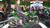 Kawasaki Z300 side angle at the EICMA 2014