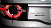 Land Rover Discovery Sport badge at 2014 Guangzhou Auto Show