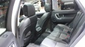 Land Rover Discovery Sport rear seat at the 2014 Los Angeles Auto Show
