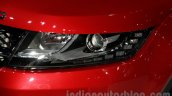 Landwind X7 headlight at the Guangzhou Auto Show 2014