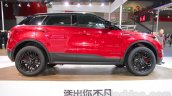 Landwind X7 side at the Guangzhou Auto Show 2014