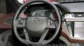Landwind X7 steering at the Guangzhou Auto Show 2014