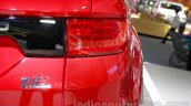 Landwind X7 taillight at the Guangzhou Auto Show 2014