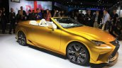 Lexus LF-C2 concept front three quarters at the 2014 Los Angeles Auto Show